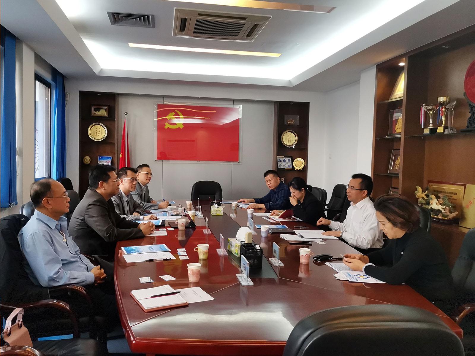 11月20 日聯會訪問廣東省科協